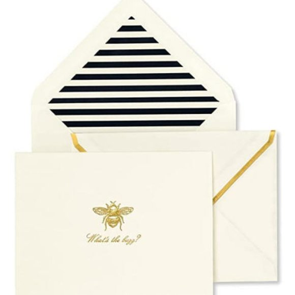 Kate Spade What's The Buzz? Notecard Set
